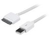 APL55 3.0M Apple Certified USB to Apple 30 pin charge & sync cable