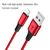 3 IN 1 FAST CHARGING USB CABLE WITH MICRO USB / APPLE LIGHTNING / USB-C CONNECTORS