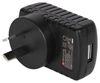 CTC1003-BK Mains USB Charger 2.4A (Black), retail packaging