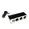 APL3USB Triple 12/24V Sockets With USB Port Charger