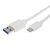 TYPE-C USB TO TYPE-A USB CABLE 1.0M WHITE