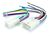VEHICLE SPECIFIC PLUG TO BARE WIRE - PRIMARY HARNESS TO SUIT DAIHATSU; TOYOTA VARIOUS MODELS