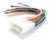 VEHICLE SPECIFIC PLUG TO BARE WIRE - PRIMARY HARNESS TO SUIT HOLDEN COMMODORE; TOYOTA LEXCEN