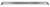 SINGLE ROW LED LIGHT BARS - SCREWLESS ENCLOSURE - COOL WHITE