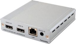 .1×2 HDMI OVER HDMI AND CAT5e/6/7 SPLITTER WITH LAN SERVING