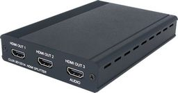 1×2 HDMI 3D SPLITTER WITH ADDITIONAL 1x AUDIO-ONLY HDMI OUTPUT - CYPRESS
