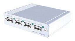 NLA - USB OVER SINGLE CAT5e/6/7 TRANSMITTER AND RECEIVER (70m)
