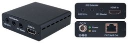 HDMI OVER HDBaseT EXTENDER 4K30 WITH IR / RS-232 - CYPRESS