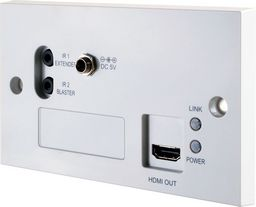 HDMI OVER HDBaseT WALL-PLATE RECEIVER 4K30 - CYPRESS