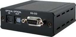 .DIGITAL AUDIO/RS-232 OVER SINGLE CAT5e/6/7 TRANSMITTER AND RECEIVER