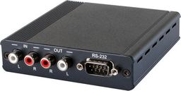 .ANALOGUE AUDIO/RS-232 OVER SINGLE CAT5e/6/7 TRANSMITTER AND RECEIVER