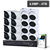 16 CHANNEL 4MP FIXED LENS IP DOME KIT