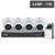 4 CHANNEL NVR & 4x 6MP PRO AI IP CAMERAS KIT - VIP