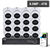 16 CHANNEL NVR & 16x 6MP PRO AI IP CAMERAS KIT - VIP