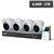 PROFESSIONAL 8 CHANNEL 4x 8MP ZOOM LENS HD-CVI-AI KIT