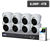 PROFESSIONAL 16 CHANNEL 8x 8MP ZOOM LENS HD-CVI-AI KIT