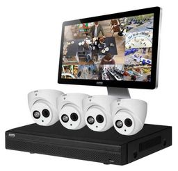 NLA - 4 CHANNEL HDCVI CCTV SURVEILLANCE KIT ~ DVR632