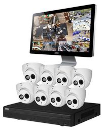 8 CHANNEL HDCVI CCTV SURVEILLANCE KIT ~ DVR590