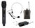 2CH WIRELESS MICROPHONE SYSTEM WITH MIC / HEADSET