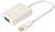 MINI-DISPLAYPORT TO VGA HD15F ADAPTOR