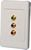 <NLA>WALL PLATE COMPONENT VIDEO CAT5